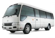 Mini Bus Hire Docklands - Toyota Coaster